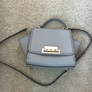 ZAC Zac Posen Eartha Leather Top Handle Bag